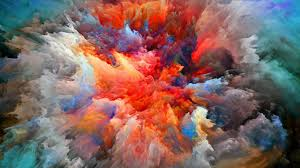 Paint Colorful - painting colorful clouds paint wallpaper art and paintings