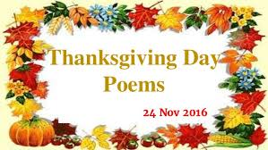 thanksgiving day poem and wishes