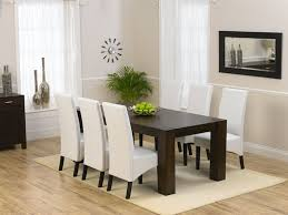White Dining Table With Black Chairs Dining Room Best 25 White Chairs Ideas On Pinterest Within Table