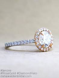 platinum halo engagement rings lenore gold platinum halo in mixed metal