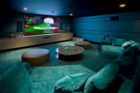 Home Theater Design Ideas On A Budget Budget Friendly Basement Decorating Tips