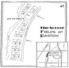 easton map directions field map