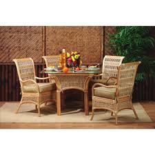Rattan Kitchen Table by Awesome Wicker Dining Room Set Images Home Ideas Design Cerpa Us