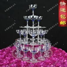 wedding supply aliexpress buy 3 tier wedding chagne tower wedding supply