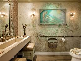 transitional bathrooms hgtv