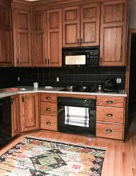 what color walls with wood cabinets how to make an oak kitchen cool again copper corners