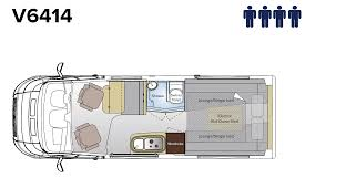 camper van layout escape campervan floorplans