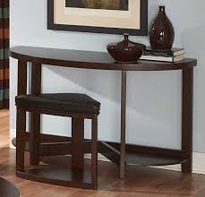 sofa table with stools underneath marvelous homelegance brussel ii console table with stool 3292 05