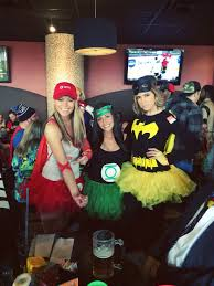 diy superhero costumes with tutus superhero barcrawl green