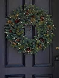 60 best christmas door wreath ideas 2017 decorating with