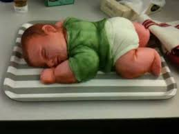 Colleen U0027s Sleeping Baby Shower Cake U2014 Reveal Youtube