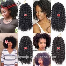 bob marley hair extensions 3pcs lot ombre wand curls mali bob twist crochet braids short hair