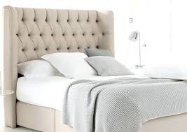 tufted headboard with wood trim headboards solid wood bed with upholstered headboard and