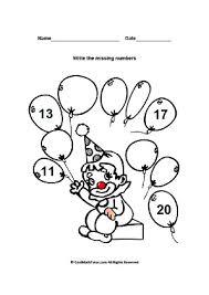 kindergarten math sequencing worksheets