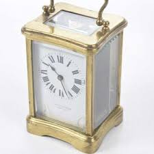 Termometer Century a late 19th century brass carriage clock current sales