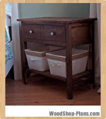 farmhouse bedside table woodworking plans woodshop plans