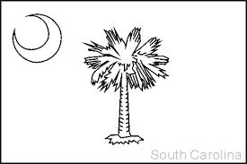 nevada state flag coloring page south carolina state flag coloring pages usa for kids