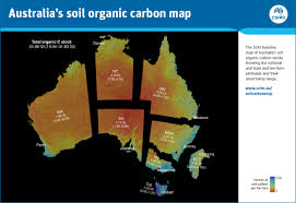 australian soil carbon map sets a baseline for future gains csiro