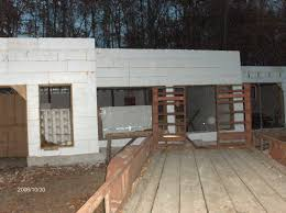 Icf Cabin First Floor Icf Walls For Stehr House In Highland Twp Michigan