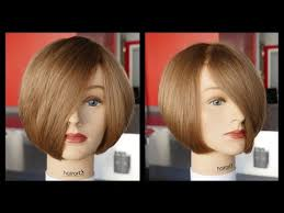 the wedge haircut instructions how to cut a layered bob haircut tutorial step by step