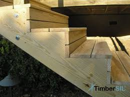 2 Step Stair Stringer by Composite Decking Timbersil Projects And News