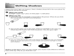 light and shadow worksheets year 3 worksheets aquatechnics biz