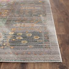 Rug Safavieh Grey Floral Design Area Rug Safavieh Transitional Rugs