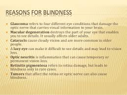 Can Cataracts Lead To Blindness Bionic Eye