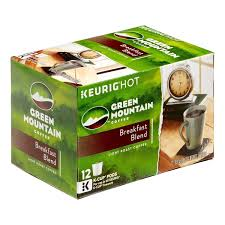 keurig k cups light roast keurig green mountain breakfast blend coffee 12 k cups light roast