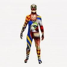 monster clown morphsuit costume halloween costumes 2 pinterest