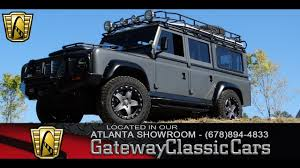 custom land rover lr4 off road 1968 land rover series ii resto mod gateway classic cars of