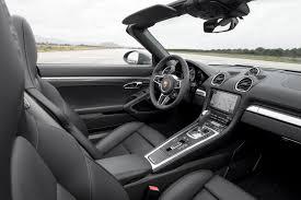 Porsche Boxster Automatic - 2017 porsche 718 boxster first drive review motor trend