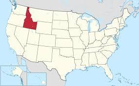 Isu Map File Idaho In United States Svg Wikimedia Commons