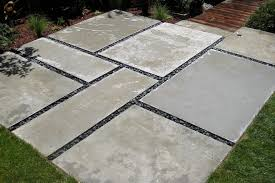 Large Pavers For Patio Large Concrete Pavers Patio Transitional With Bifold Doors Window
