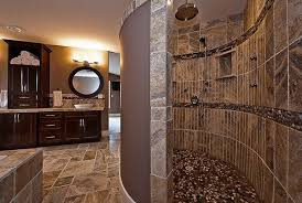 open shower bathroom design open shower bathroom design of a modern doorless shower in