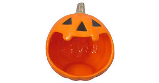 hyde and eek boutique halloween ceramic pumpkin candy bowl