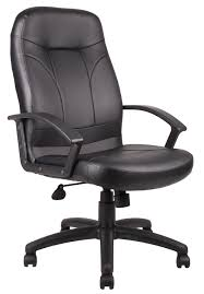 Black Leather Chairs Furniture Executive Chairs High Back Uk For Pain Price Newmediahub