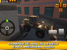3d monster truck racing games online construction truck 3d parking android apps on google play