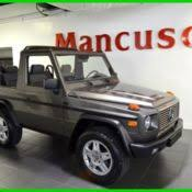 mercedes g wagon convertible for sale 1991 mercedes 300ge cabrio g wagon w463 convertible black for