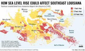 louisiana map global warming new orleans is one of a dozen cities at risk from global warming