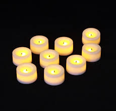 candle impressions flameless tealight candles set of