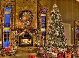 christmas cabin fireplace wallpaper wpyninfo