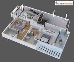 Glamorous 30x40 Duplex House Plans 3d Images Best Idea Home Home Design 3d Trailer