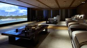 home theater wallpaper home theater with crown molding interior
