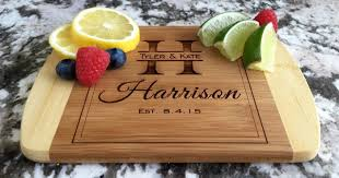 wedding gift cutting board personalized cutting board only 12 99 shipped wedding