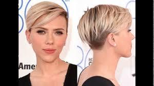 female short hair undercut asymmetric short haircut with a temple undercut youtube