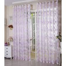 Purple Sheer Curtains Fabulous Purple Sheer Curtains And New Design Country Living Room