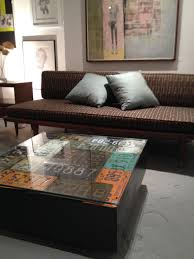 just placed this coffee table yesterday it u0027s made of vintage