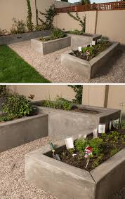 10 excellent examples of built in concrete planters custom