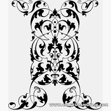 ornament vectors rectangular shape